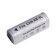 Digital Video Battery Replace Canon NB-9L for Canon PowerShot SD4500IS and More (3.5v, 1000 mAh)