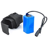 4.2V  4400mAh 4 x 18650 Li-ion Battery Pack for Bicycle Headlamp