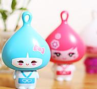 Pouco Onion Head dos desenhos animados de Fan (cor aleatória)