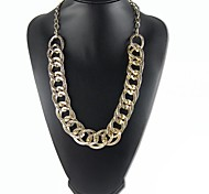 or trottoir chunky collier