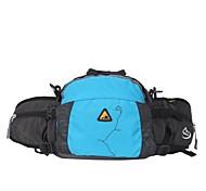 Waist Bag/Waistpack Camping & Hiking / Climbing / Leisure Sports / Traveling / Cycling/Bike Waterproof 4 L Red / Blue / PurplePolyester /