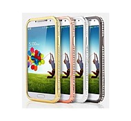 Diamond Look Metal Bumper Case for Samsung Galaxy S4 i9500(Assorted Color)