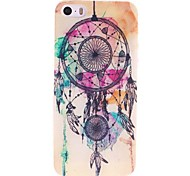 iphone 7 plus dreamcatcher étui rigide motif de pc pour iphone 5 / 5s