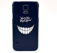 Mad Lächeln Pattern Hard Case für das Samsung Galaxy i9600 S5