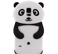 Panda Silicon Soft Case for Samsung S5 I9600