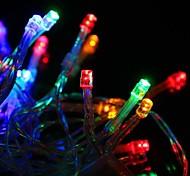 30 LED alimentado por bateria Multi-Cor Luzes Cordas de fadas para festa de Natal (3xAA)