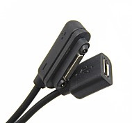 Magnetic to Micro USB Female Adapter Cable for Sony Xperia Z Ultra XL39H Z2 Z1