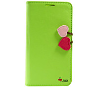 Cherry Series Full Body Leather Case for Samsung Galaxy Note 3