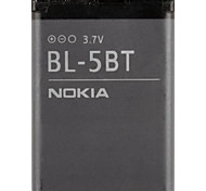 870mAh BL-5BT batterie de téléphone portable de remplacement pour Nokia N75 et Plus