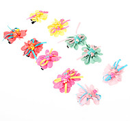 Kid's Butterfly Barrettes Hair Jewelry (Random Color)