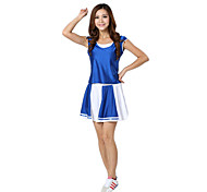 Sweet Girl Deluxe Polyester 2014 Brazil World Cup! Football Baby Cheerleader Uniform
