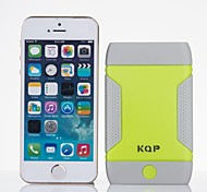5000mAh KQP High-Capacity Universal Power Bank External Battery for iPhones/ Samsung/ Cellphones/mobile Devices