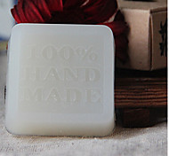 Handmade Milk Honey Rose Essential Oil Soap Whitening 50g