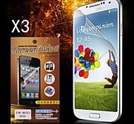 Protector de pantalla de alta definición de protección para Samsung Galaxy Note 3 (3PCS)