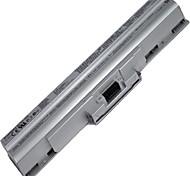 GoingPower 11.1V 4400mAh Batteria del computer portatile per Sony Vaio VGN-CS VGN-CS19 VGP-BPS13B / B VGP-BPL13 VGP-BPS13A / B argento
