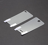 Professional HD Film Guard Set con panno di pulizia per iPhone 4/4S