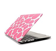 ENKAY Pink Deerskin Pattern Protective Polycarbonate Full Body Case for MacBook Air