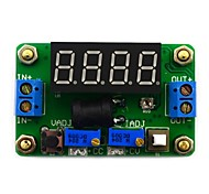 Jtron DC 4.5~24V to DC 0.9~20V Constant Voltage / Current Buck w/ 4-Digit Green LED Display