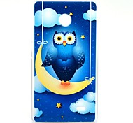 Owl on The Moon Pattern Hard Case for Nokia X