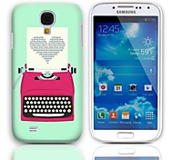 Imprimindo projeto do amor Caso duro com protetores de tela de 3-Pack para Samsung Galaxy S4 mini-I9190