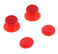 Reemplazo 3DRocker Cap + tapa antideslizante de silicona Set para PS4 (2 unidades)