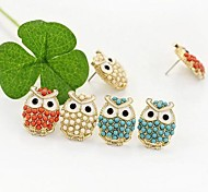 Owl Perline Orecchini (3 colori)