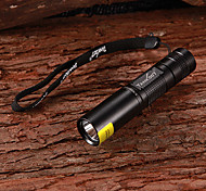 TANK007 1W 365~370nm LED Purple Light UV Flashlight (1xAA,180LM)