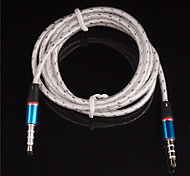 3.5mm Male to Male Audio Connection Cable (1.2m,Assorted Color)