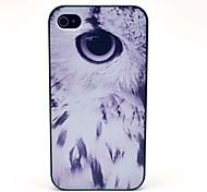 Modelo elegante Eagle Eye tapa dura para el iPhone 4/4S