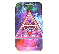 Kinston Weird Triangle Pattern PU Leather Full Body Case with Stand for Motorala Moto X