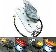 Motorcycle LED Rear Lights With the License Plate Lamp and the Turn Signal Function