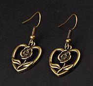 Cute Rose Copper Earrings(1 Pair)