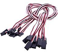 50cm Servo Cable de extensión para RC Servo (10 piezas)