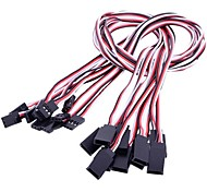 50cm Servo Extension Cord for RC Servo(10 pcs)