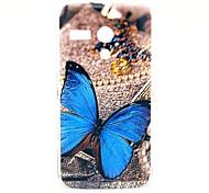 Beautiful Butterfly Pattern Plastic Hard Case for Motorala Moto G