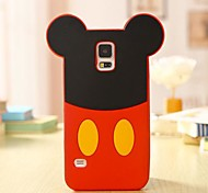 Cartoon Mouse Silicone Cell Phone Case for Samsung Galaxy S5 i9600