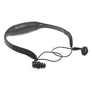 100% Waterproof MP3 Player Deportes 4GB TF y auriculares (Negro)