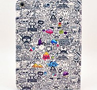 Complex Cartoon Pattern PU Leather Full Body Case with Stand for iPad Air
