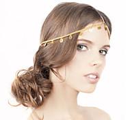 shixin® nappe semplici europei con fasce flash card in lega d'oro per le donne (1 pc)