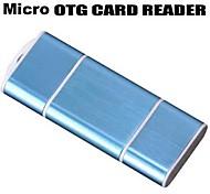 USB OTG Micro SD / TF adaptador Reader para Samsung Galaxy entregas / USB PC / (cores sortidas)