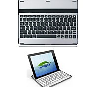 Ultra Thin Bluetooth Keyboard with Built-In Aluminum Case for iPad 2/3/4 (Assorted Colors)