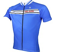 PALADIN Men's Cycling Jerseys / Tops Short Sleeve Bike Spring / Summer Breathable / Ultraviolet Resistant / Quick Dry BlueS / M / L / XL