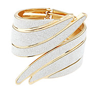 Punk metal exaggerated angel wing haped bracelet