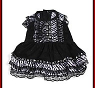 Elegant Grain Dress with Lace for Pets Dogs (Assorted Sizes)