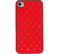 Exquisita Funda protectora brillante terreno para iPhone4/4s