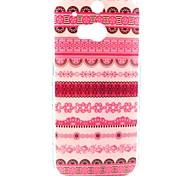 Pink Flower Tribal Teppich Muster Hülle für HTC One 2 M8
