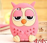 Cute Owl Silikon Cases für iPhone 4/4S (verschiedene Farben)