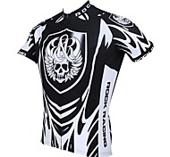 PaladinSport Men's Cycling Jersey Short Sleeves Spring and Summer Style 100% Polyester Short Sleeved Cycling Jersey