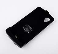 3800mAh High Capacity Backup Battery Case with Stand for Google Nexus 5