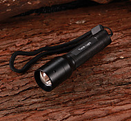 LED Flashlights / Handheld Flashlights LED 1 Mode 130 Lumens Compact Size / Small Size Cree XR-E Q5 AA Multifunction - OthersAluminum